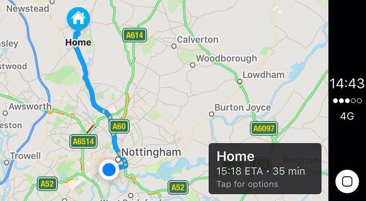 Apple Maps - Apple CarPlay  #CEN #applecarplay #apple #carplay #pioneer #kenwood #volkswagen #audi #auditt #audia3 #bmw #audilife #audilove