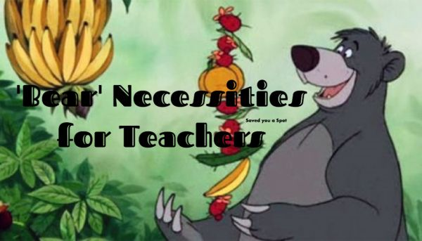 Saved you a Spot recommends keeping a few essential things on hand to make your teacher life easier. For all you honey-bear-teachers out there, belowyou will find the simple, 'bear' ne…