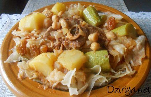Chakhchoukha de biskra projets essayer pinterest - Facebook cuisine algerienne ...