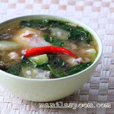 Manila Spoon: Tinolang Manok (Opo Squash and Ginger Chicken Soup)