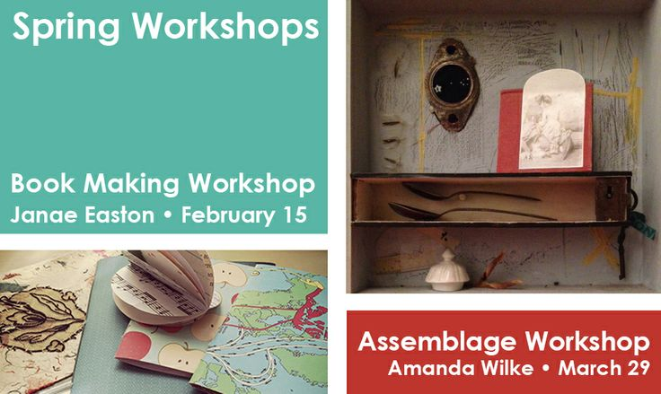 Thomasville Center for the Arts is offering new workshops this Spring! Sign up NOW!