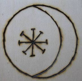 Haxon witchcraft symbols and rituals | ... Seax Wica represents the moon, the sun, and the eight Wiccan sabbats