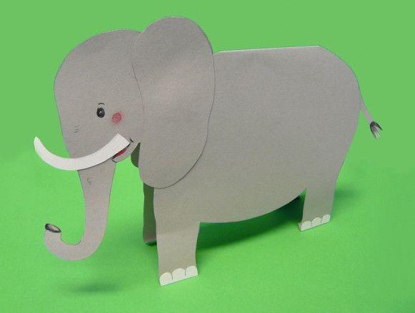 Шаблоны для поделок из бумаги для детей