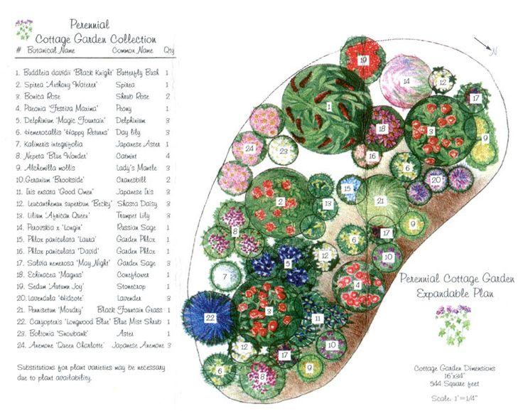 perennial garden layout garden home