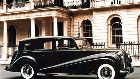 1954 Rolls-Royce Limousine by Mulliner for Queen Elizabeth II