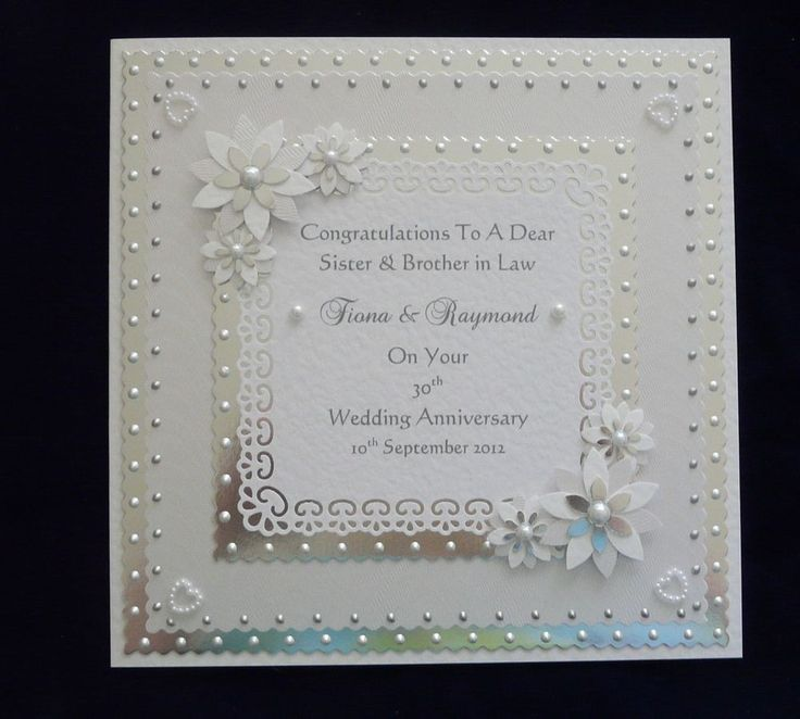 7 best Anniversary cards images on Pinterest | Wedding cards ...