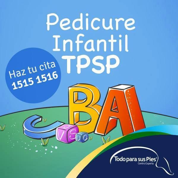 #pedicure INFANTIL Todo para sus Pies ® Los niños también deben consentir y cuidar la #salud de sus #pies