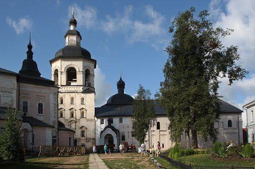 В монастыре. Кириллов