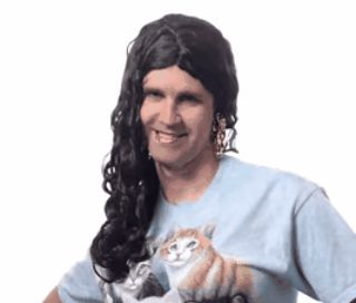 Random YouTube GIFs, They like to use wigs a lot at the Rhett and Link...