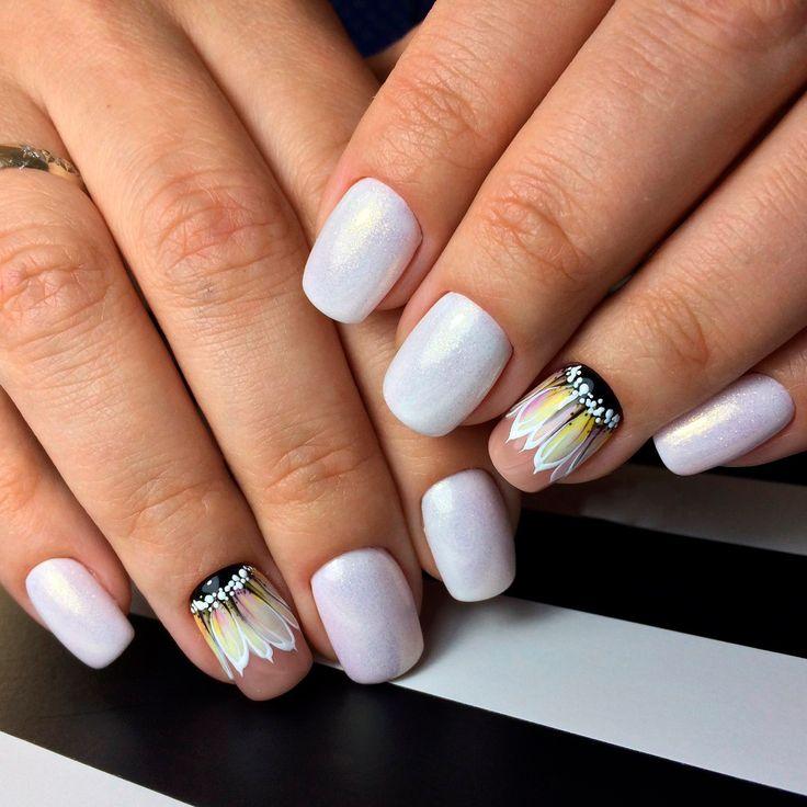 Ногти дизайн фото светлые