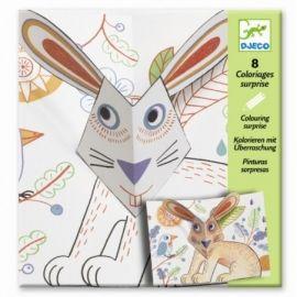 Djeco pop-up konijn