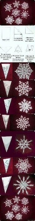 Snowflake diy