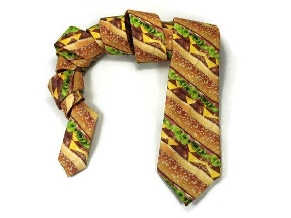 Hamburger necktie
