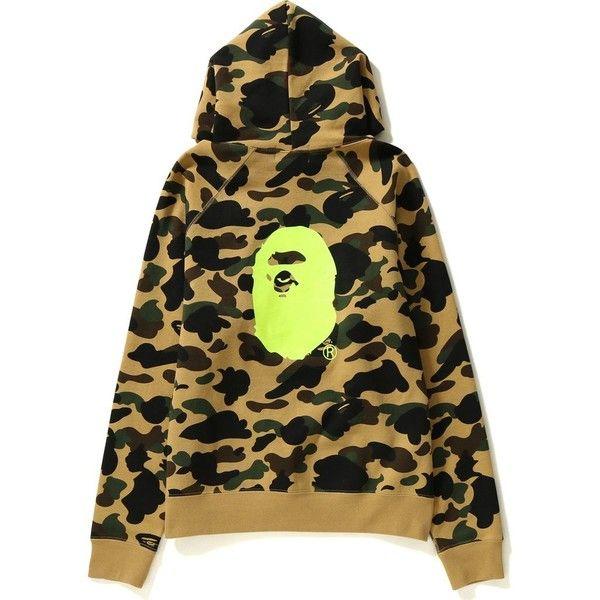 1ST CAMO WIDE PULLOVER HOODIE LADIES ($299) ❤ liked on Polyvore featuring tops, hoodies, camouflage hoodie, hoodie pullover, brown hoodie, sweatshirt hoodies and brown hooded sweatshirt