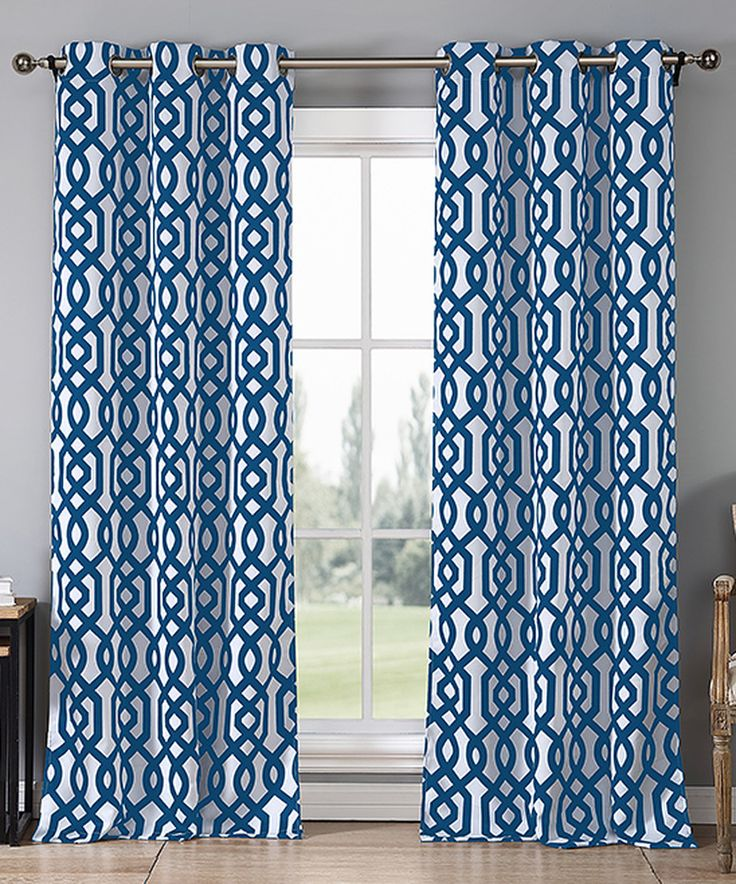 Another great find on #zulily! Royal Blue Ashmont Blackout Curtain Panel - Set of Two by Duck River Textile #zulilyfinds