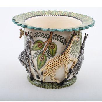 Ardmore Ceramics Giraffe Planter