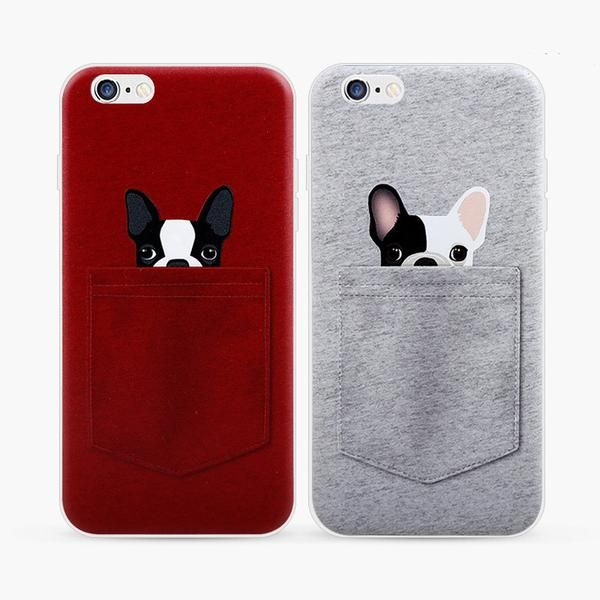 Obviously the red one with the Boston terrier on it!