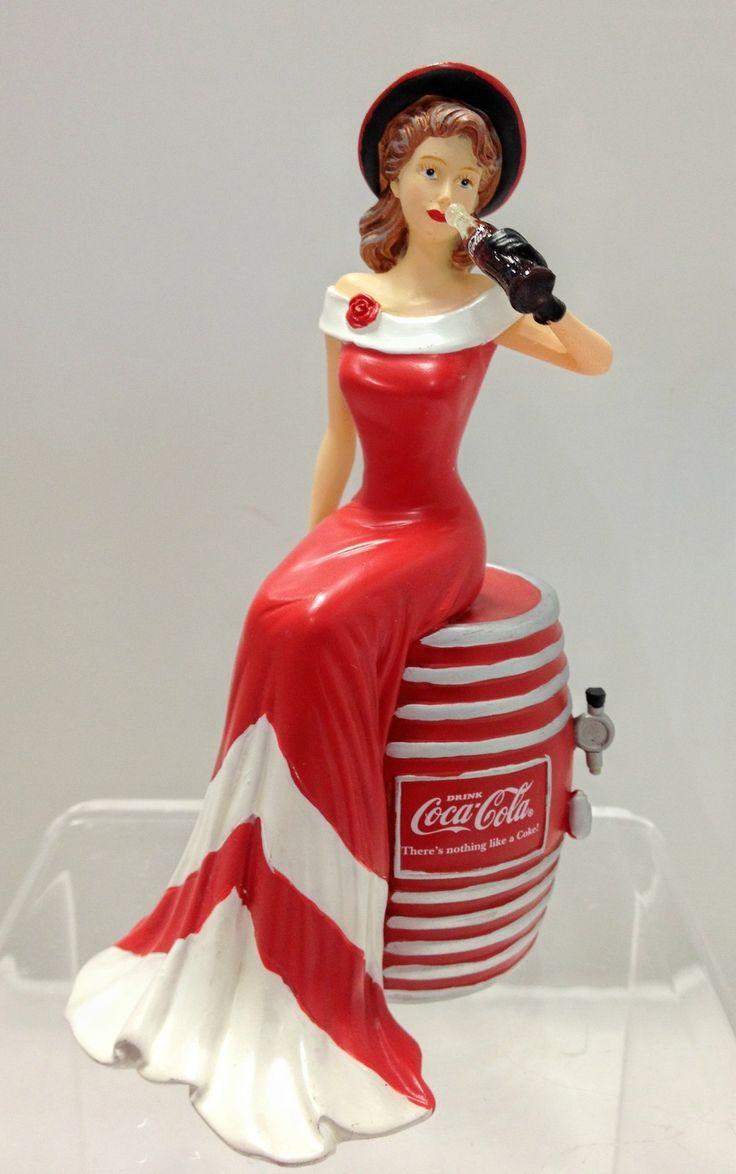 """Bradford Exchange """"Coca-Cola Beauties of The 1940s"""""""