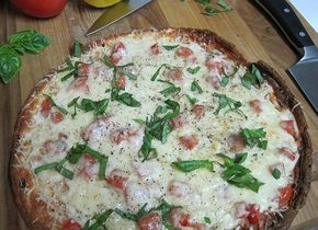 Dukan Diet Recipe Flourless Pizza and Pizza Margherita