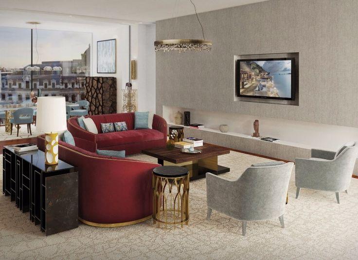 Living Room Design | Living Room Ideas. Furniture Design. #homedecor #interiordesign #livingroom Find more: https://www.brabbu.com/all-products/