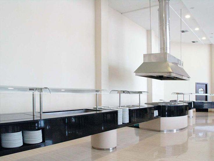 Cocina industrial y para grandes colectividades for Mobiliario y equipo de cocina
