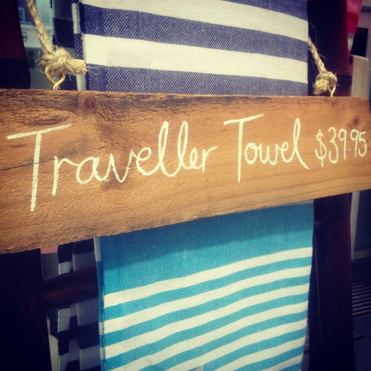 Retailer display at Coolum Beach #turkishtowel #travellertowel #summer #gift #present