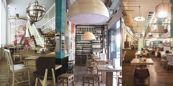 Proyecto de iluminación para un restaurante de Madrid.