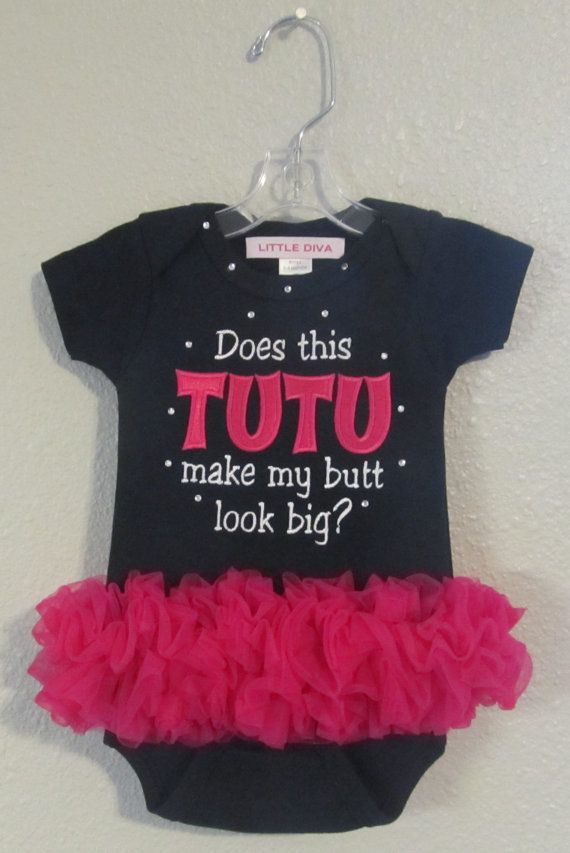Hey, I found this really awesome Etsy listing at https://www.etsy.com/listing/180774631/adorable-hot-pink-and-black-tiutu-onesie