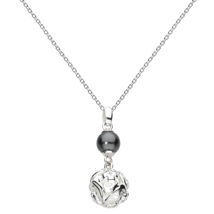 Woodland Swarovski Pearl Necklace