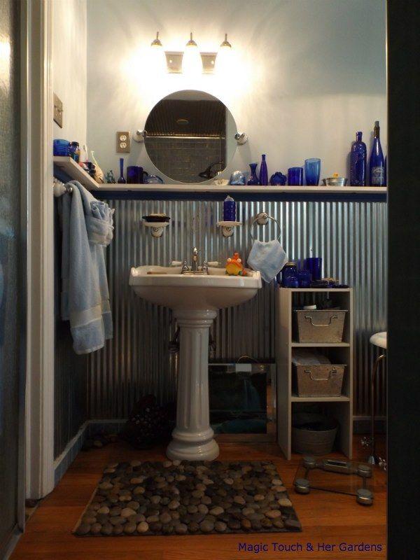 A Bathroom gets the Magic Touch !