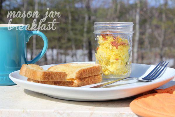 Bacon & Eggs in a Jar – Mason Jar Breakfast Recipe | Mason Jar Breakfast