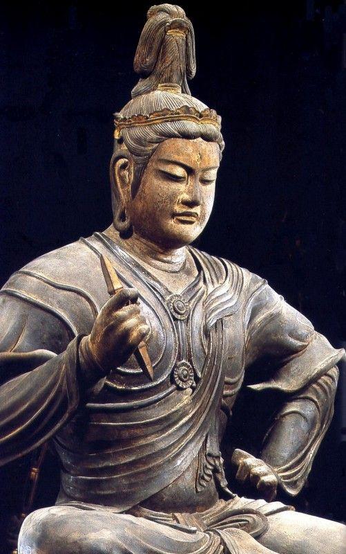 Taishakuten, Kyoto, Japan.京都 八幡山教王護国寺(東寺) 帝釈天半跏像. S)