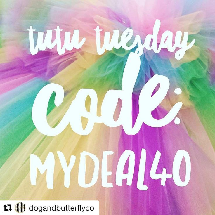 #Repost @dogandbutterflyco (@get_repost) ・・・ It's TUTU TUESDAY and the DAB team is having a contest! . . Save 40% on all tutus and rag skirts with code MYDEAL40! . . Be sure to put EVIE's NAME in the notes at checkout so we get credit!!!! We want to win!!!!! �� . . Don't forget we offer free shipping in the US! . . . . . #flowers #flower #petals #magical #beautiful #love #pretty #blossom #sopretty #spring #flowerstagram #tutus #brandreppinlove #spring2017 #flowerslovers #botanical #duckling…