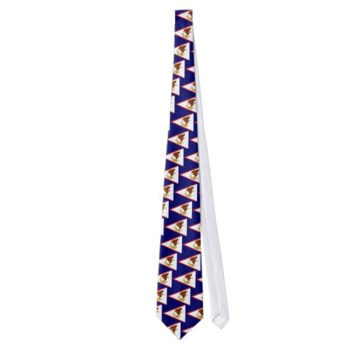 American Samoa Island tie