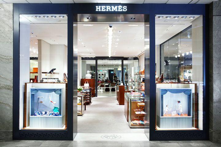 Hermes shop in shop Nordiska Kompaniet RDAI Stockholm
