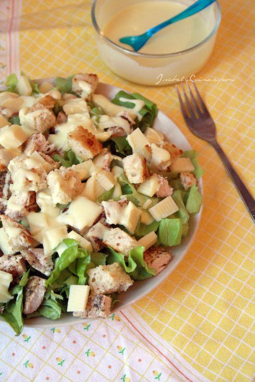 Salata Caesar - Retetaperfecta.ro