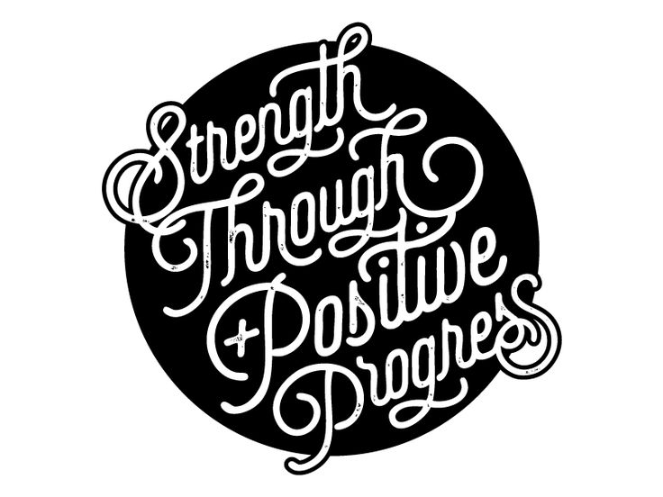 Strength Through Positive Progress for Force Fitness, by Katie Conforti