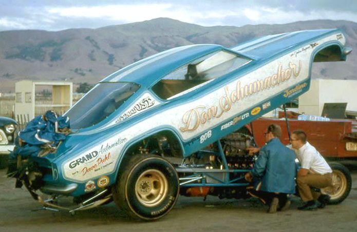 Don Shumacher 1968 'Cuda funny car