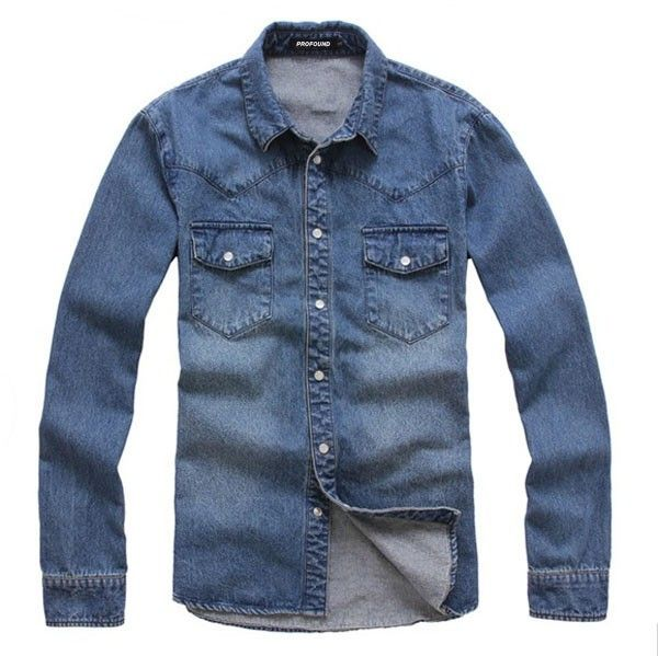 17 Best ideas about Denim Shirts For Men on Pinterest | Casual ...