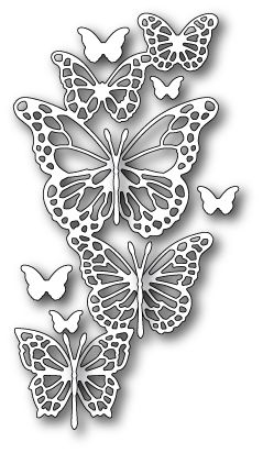 **PRE-ORDER** Memory Box - Die - Butterfly Exhibit,$20.49
