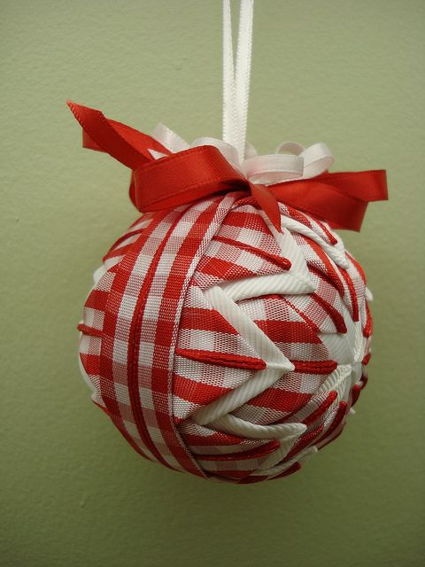 Christmas ornaments without seeing: