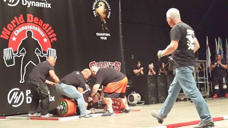 Eddie hall deadlift 500kg