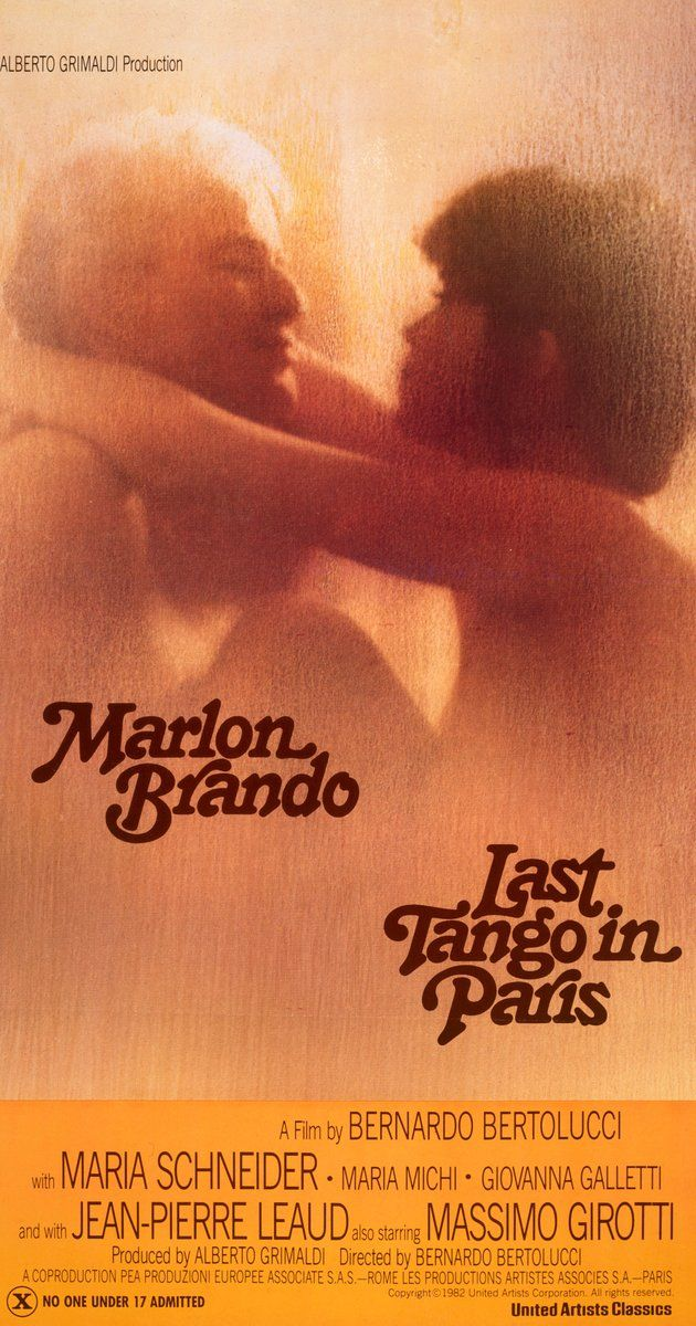 Directed by Bernardo Bertolucci. With Marlon Brando, Maria Schneider, Maria Michi, Giovanna Galletti. A young Parisian woman meets a middle-aged American businessman who demands their clandestine relationship be based only on sex.