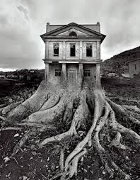 jerry uelsmann photo -- probably my favorite photographer. Made all these surreal Dali-esk photographs with film...in the dark room...no photoshop. I really love the way he uses space and the depth of the contrast he gets.
