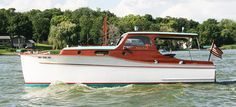Chris Craft 28 ft classic cabin cruiser for sale