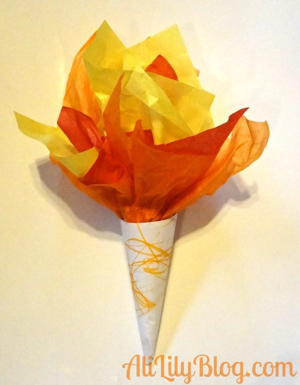 Olympic inspired crafts for kids