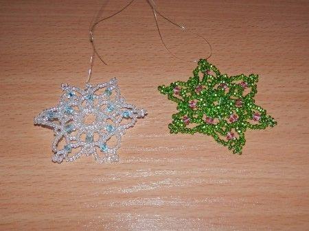 Vánoční korálky III - Vločky