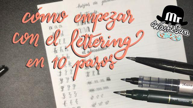 Tutorial: cómo empezar con el lettering en diez simples pasos.
