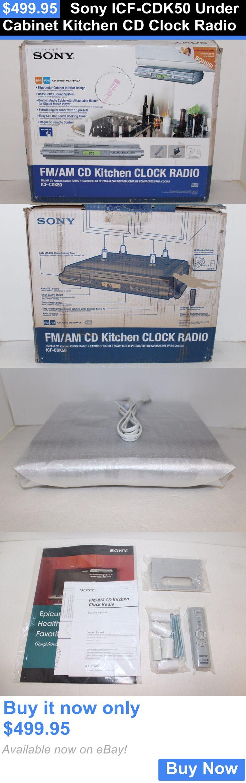 Radio For Kitchen Cabinet Sony Under Cabinet Kitchen Cd Clock Radio Icfcdk50 Cliff Kitchen