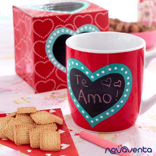¡Añádale a tu vida tazas llenas de amor con el mug corazón!